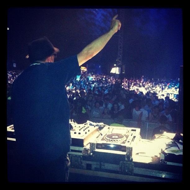 Jeff DJing
