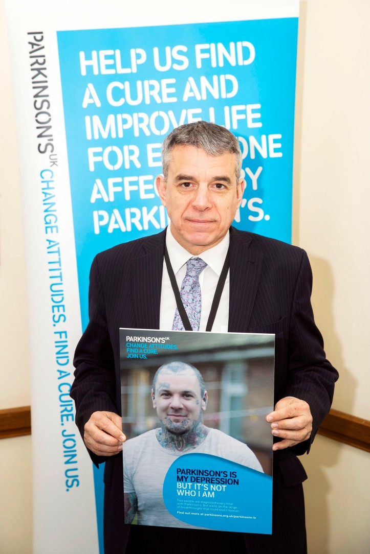 Parkinson's UK in Parliament. Westminster, London.  © Jess Hurd