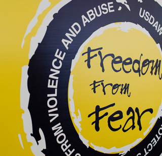 190508 Usdaw freedom from fear campaign