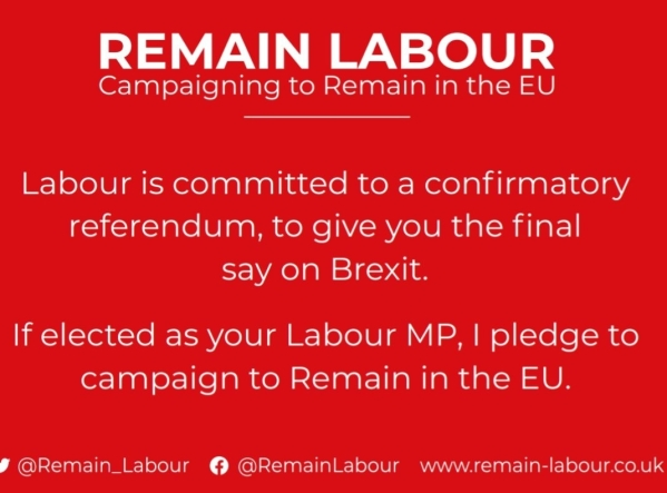 191113 Remain Labour pledge